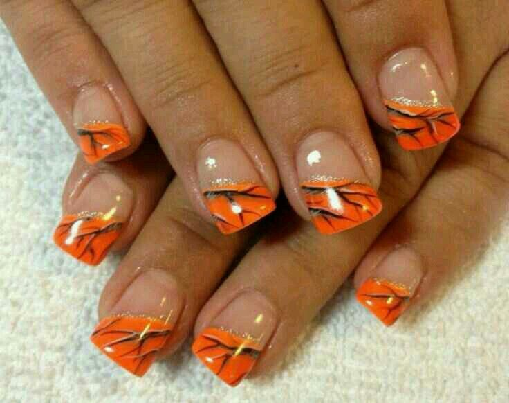 6291 funky french tip nails