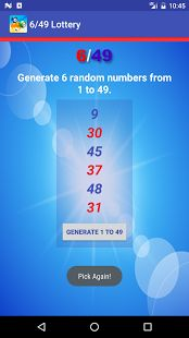 International Lottery Number Generator