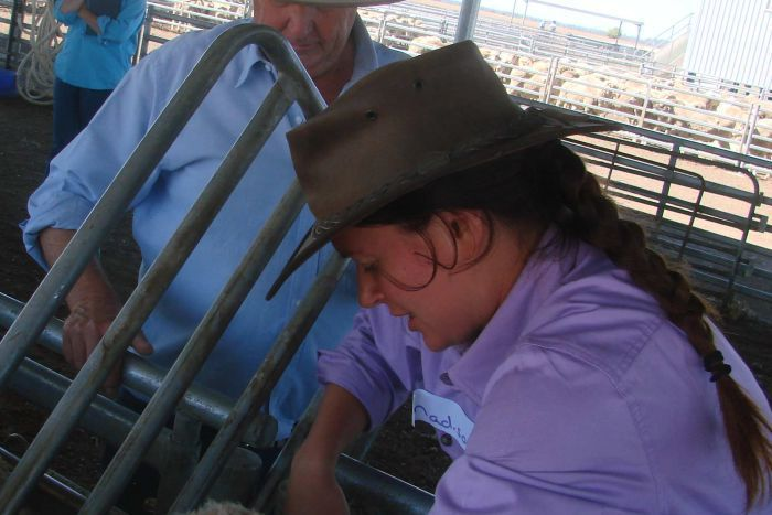 Budding jackaroos and jillaroos gain practical experience for agriculture career