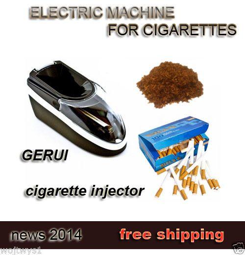 Electric Cigarette Tobacco Rolling Injector Automatic Maker Machin