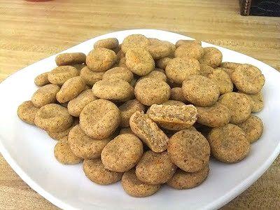 Sweet Potato Puffs Dog Treats