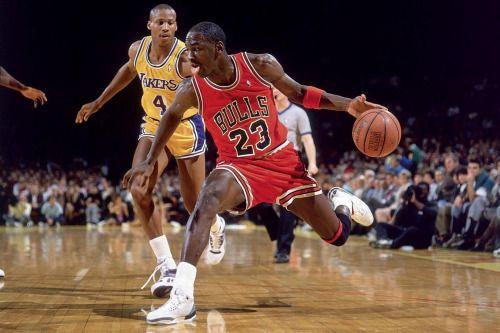 Michael Jordan & Byron Scott