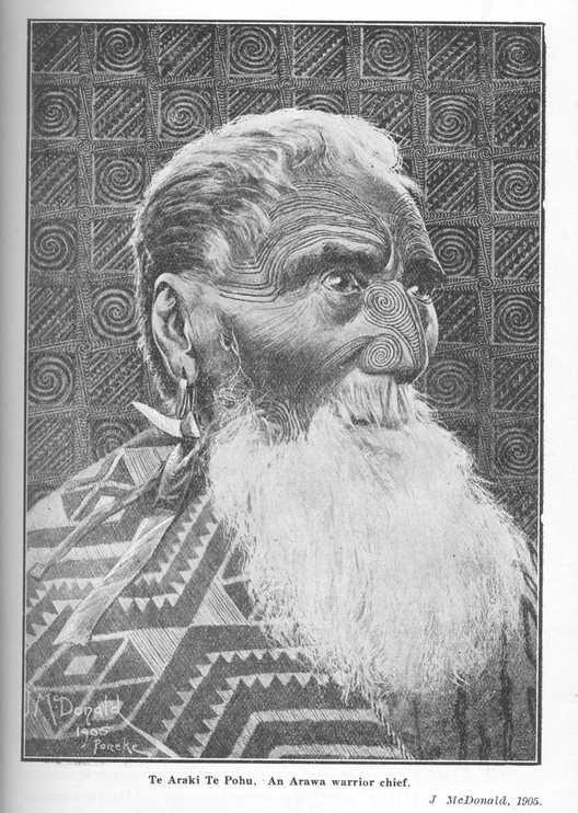 Beautiful illustration. From Elsdon Best's, The Maori (1924)