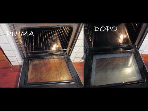 Esperimento Forno Pulito in pochi secondi con bicarbonato e aceto - YouTube
