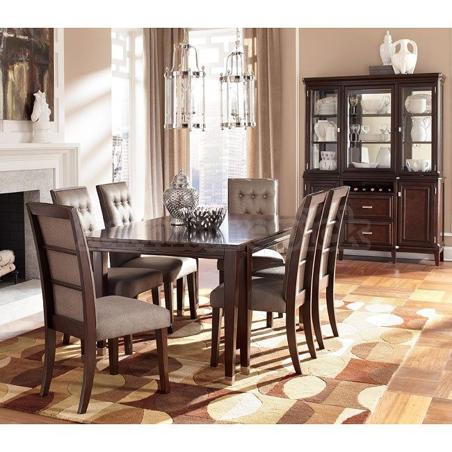 Larimer Dining Room Set W Extension Table