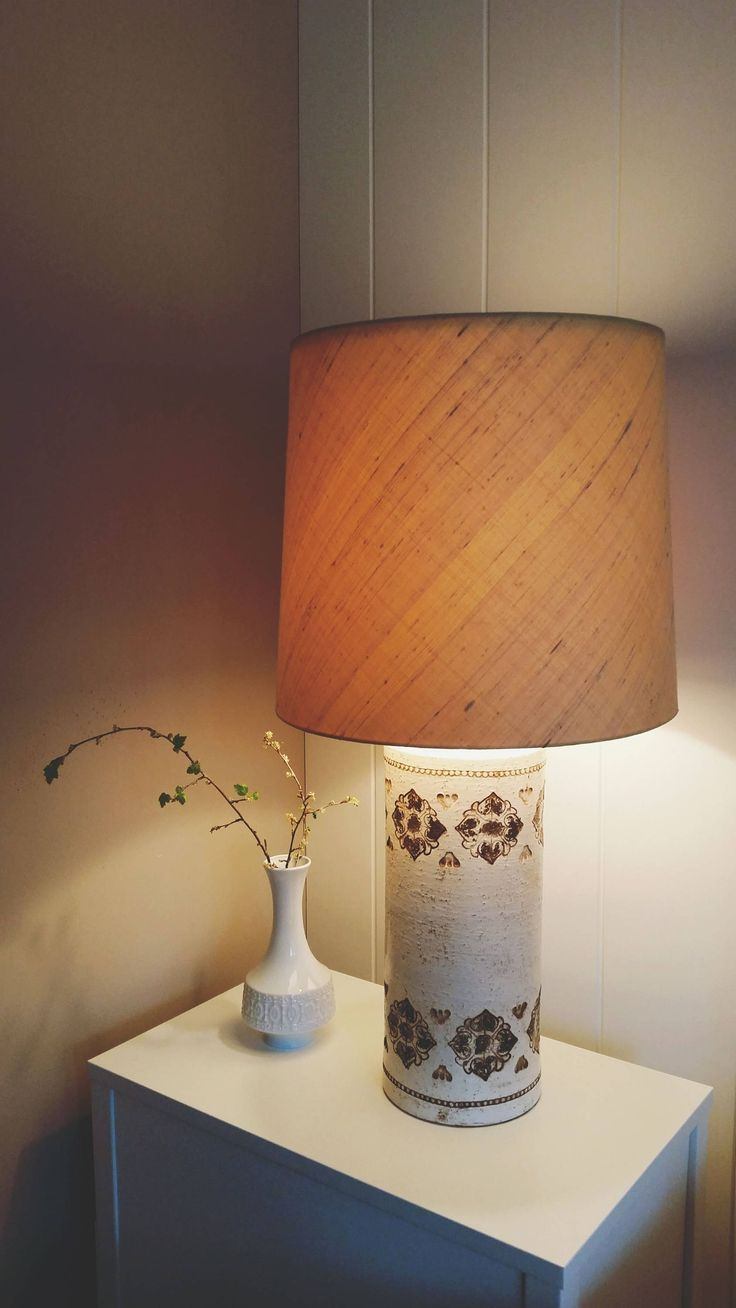 Rare Bitossi for Bergboms 1960 large table lamp    FREE SHIPPING by NordicFiesta on Etsy