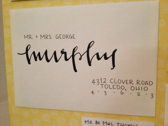 25 Best Images About Wedding Calligraphy On Pinterest