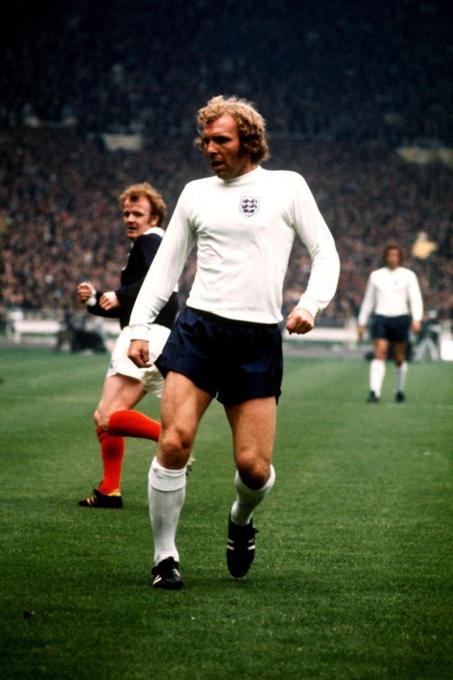 Bobby Moore England 1973