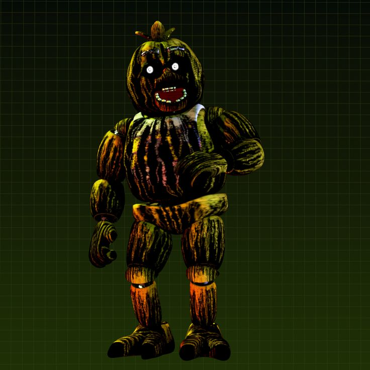 F Naf Chica Jump Scare: Phantom Toy Chica Jumpscare On Make A GIF