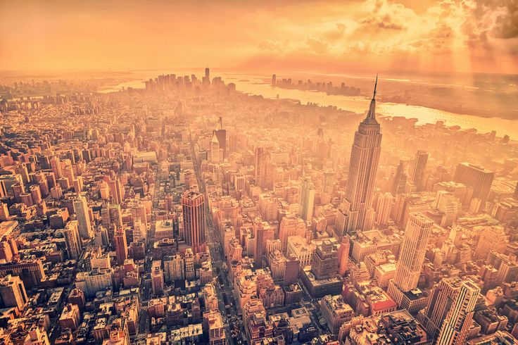 Golden New York by Matthias Haker