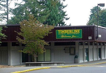"""The """"original"""" Timberline HS (Blazers)  - before it was remodeled - graduated 1977    http://en.wikipedia.org/wiki/Timberline_High_School_(Lacey,_Washington)"""
