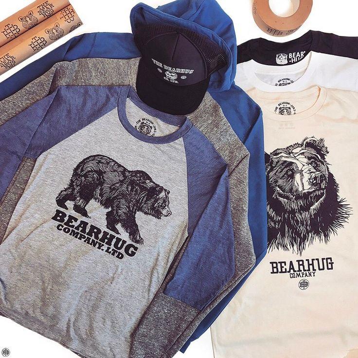#thebearhugco #limitededition #clothing #bear #lukedixon #tshirt #sweatshirt #hoodie #truckercap