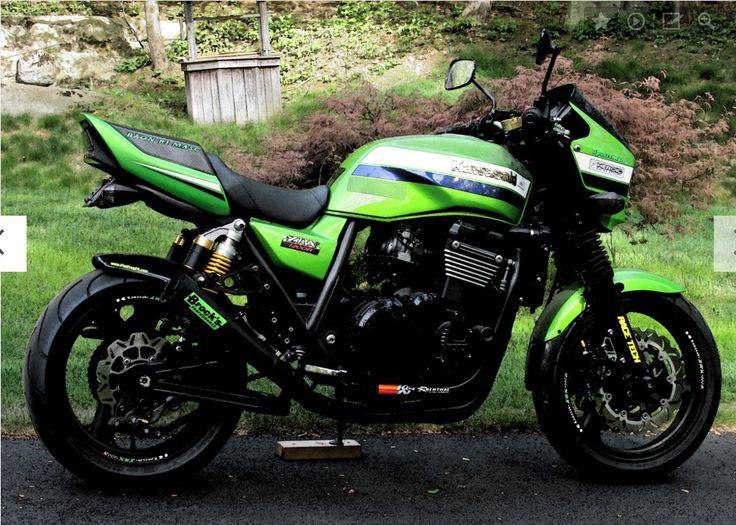 Kawasaki Zrx 1100 W Kerker Exhaust Kawasaki Motorcycles