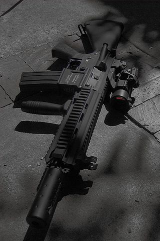 185 best images about gun hk 416 on pinterest military - M416 wallpaper ...