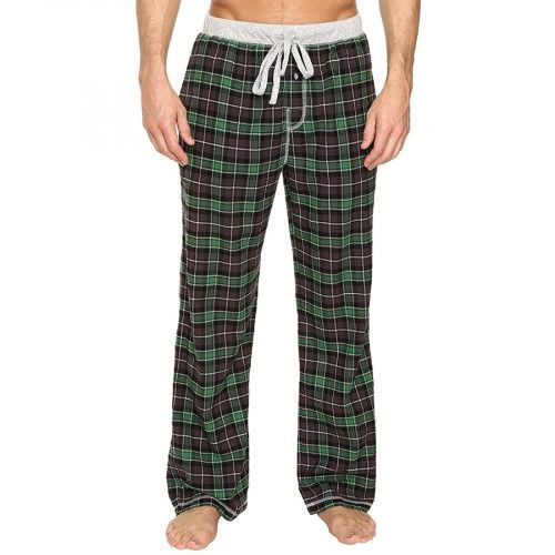 Men's Bowery Check Flannel Pants