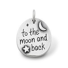 """""""To the Moon and Back"""" Charm at James Avery based of one of my favorite books."""