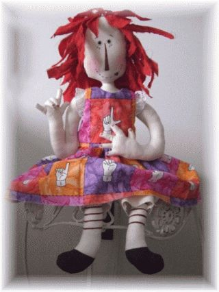 104 best american sign language images on pinterest american patternmart asl american sign language raggedy ann sewing pattern fandeluxe Choice Image