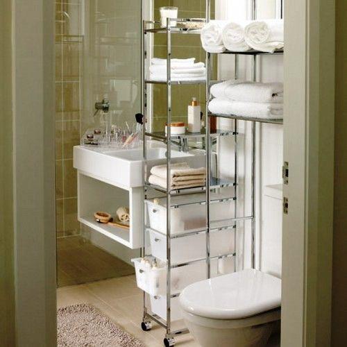 Так много вещей, бутылочек и баночек необходимо всегда иметь под рукой в ванной, что зачастую все пространство бывает ими заставлено. Все же современные ванные комнаты в городских квартирах бывают слишком малы для всего скарба. А традиционные шкафчики и ящики для хранения могут скрадывать и так