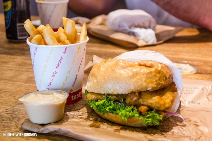 Old Friends, New Burgers – No Beef With Burgers