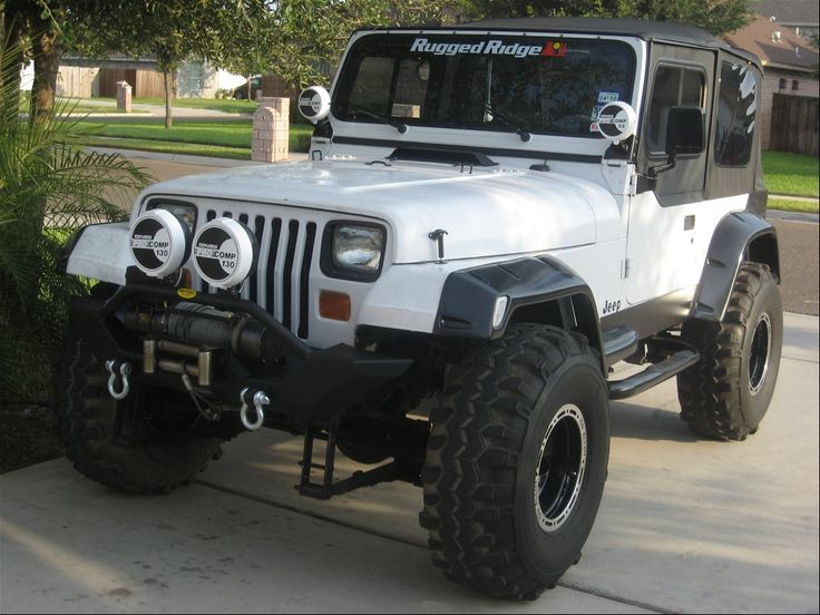 Jeep Wrangler Yj White Google Search Al S Garage