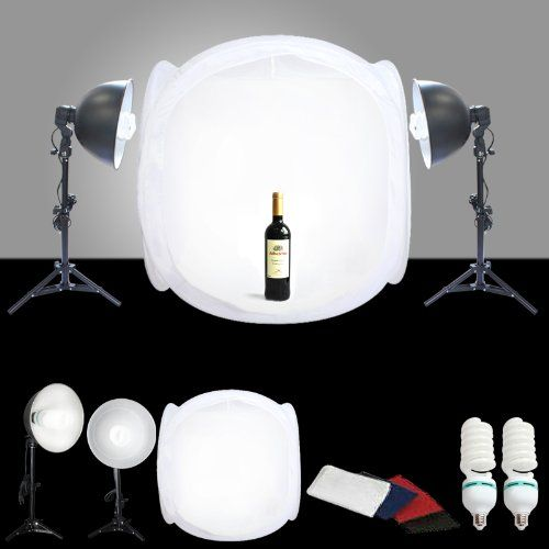 CanadianStudio STUDIO IN A BOX PHOTO LIGHT TENT PHOTOGRAPHY SET 1000 watt output Continuous Light Kit & The 25+ best Light tent photography ideas on Pinterest | Diy ...