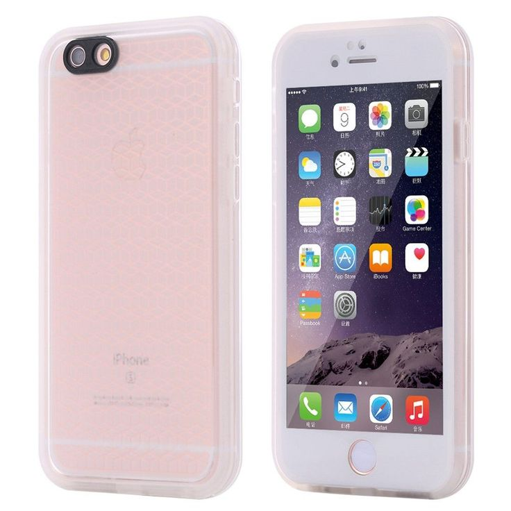 FLOVEME For iPhone 6 6s Case Touchable Screen Waterproof Case For iPhone SE 6 6s Plus Ultra Slim 360 Full Protective Cover Capa