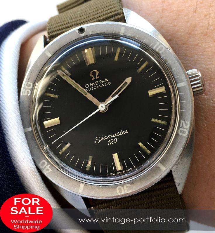 Rare Omega Seamaster 120 Automatik Automatic Vintage #omega #omegawatches #omegaseamaster #seamaster #militarywatches