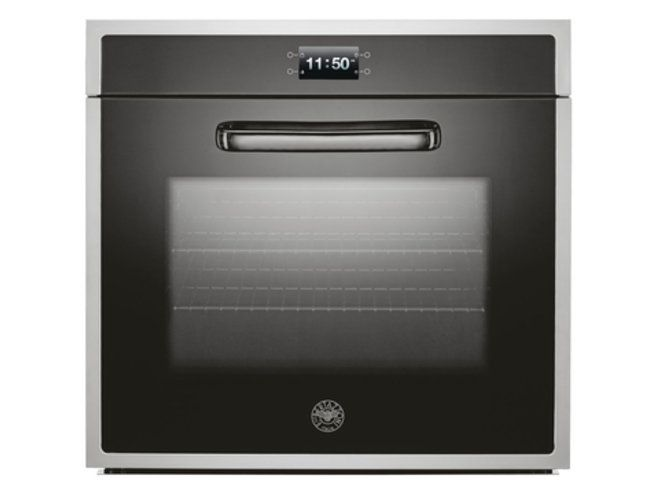 Bertazzoni 76cm electric oven with 11 cooking functions from the Design Series (model F30 CON XT)  for sale at L & M Gold Star (2584 Gold Coast Highway, Mermaid Beach, QLD). Don't see the Bertazzoni product that you want on this board? No worries, we can order it in for you!