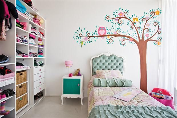 Un mundo de ilusiones en un cuarto de nena  Partiendo de la idea del dibujo…