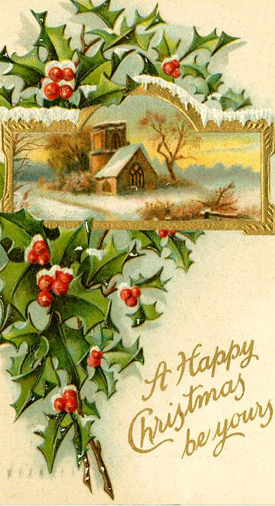Vintage Christmas Images To Print