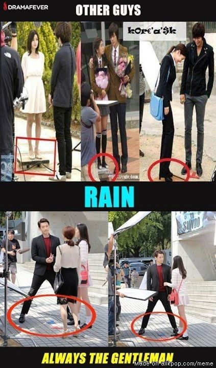 Rain. He was so wasted in She's so lovable. He needs to come back in a better drama >_<
