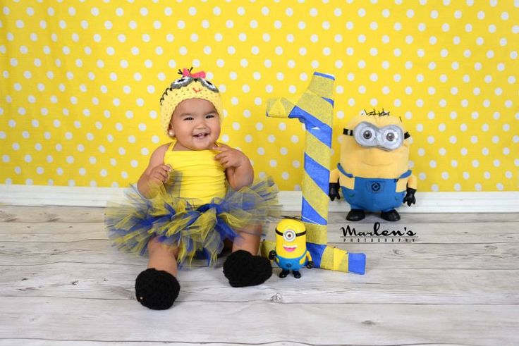 Despicable Me For Girl Crochet Hat ,boots and  tutu Diaper Cover and bow, Minion Halloween costume, Despicable me  baby costume by NattyHatty on Etsy