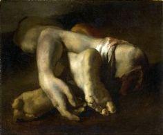 Théodore Géricault; Studio per La Zattera della Mudusa: Membra tagliate (Natura morta di braccia e gambe); Musée Fabre, Montpellier, Francia.