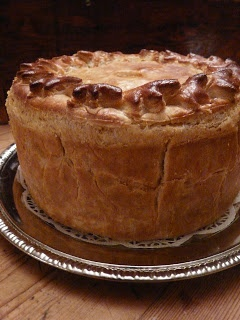 Il Timpano ~ For your Big Night, or any night...(spaghetti dinner inside a puff pastry drum)