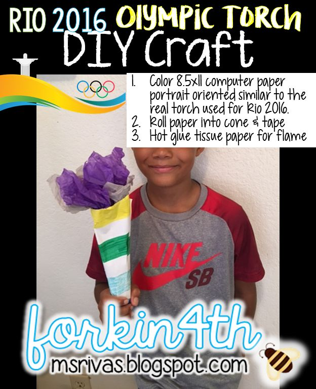 forkin4th: Rio Olympic Torch Craft