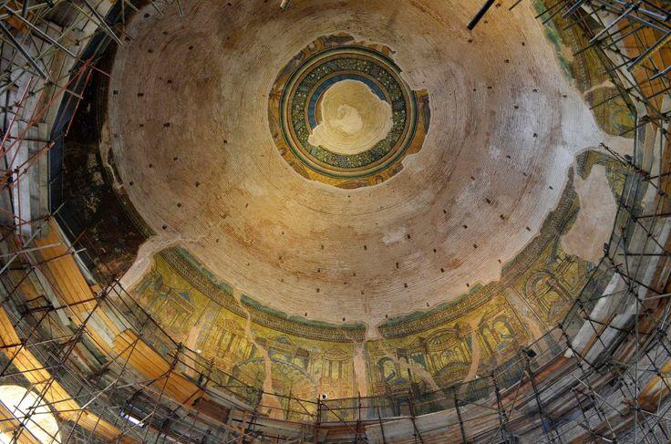 Rotonda di San Giorgio, Salonicco. Mosaici della metà del V secolo.