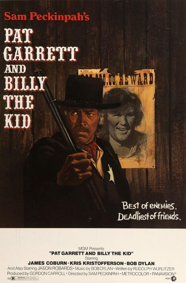 "Pat Garrett and Billy the Kid (1973) Original 30"" x 40"" Movie Poster"