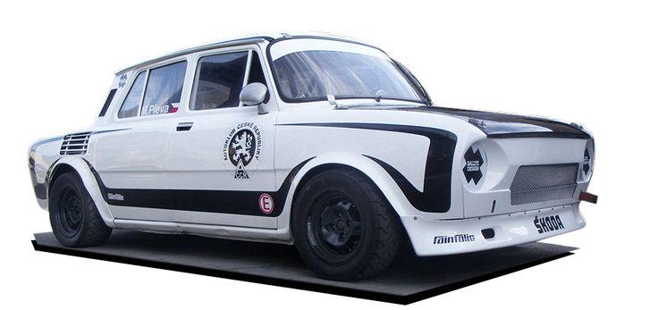 Martin Pleva - hillclimb (Škoda 100) - design and wrap.