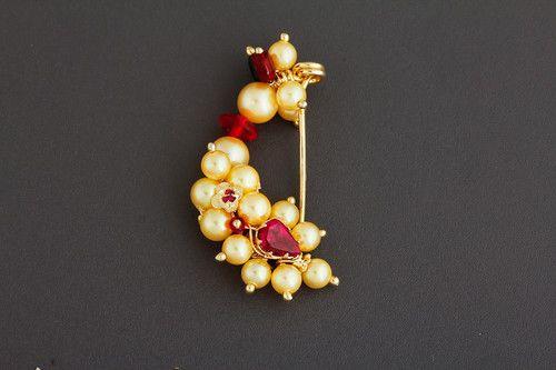 Maharashtrian Wedding Bridal Jewellery- Karwari Nath