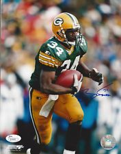 PACKERS Edgar Bennett signed photo 8x10 JSA COA AUTO Autogrphed Green Bay