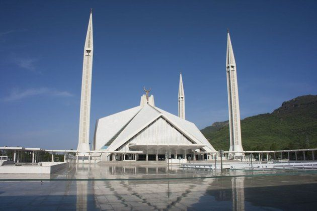 ISLAMABAD, PAKISTAN: The Faisal Masjid in Islamabad is the largest mosque in Pakistan. It is named after the late Saudi King Faisal bin Abdul-Aziz, who financed its construction.