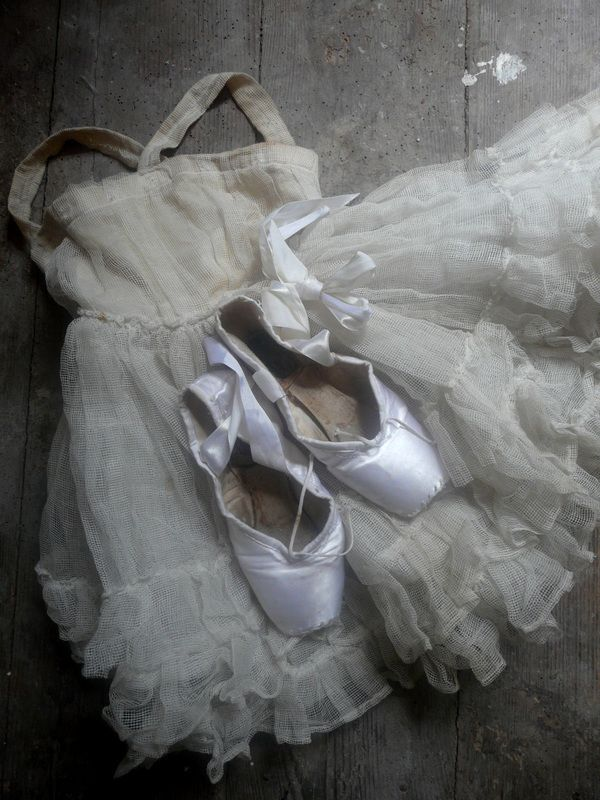 Pointe shoes and tutus