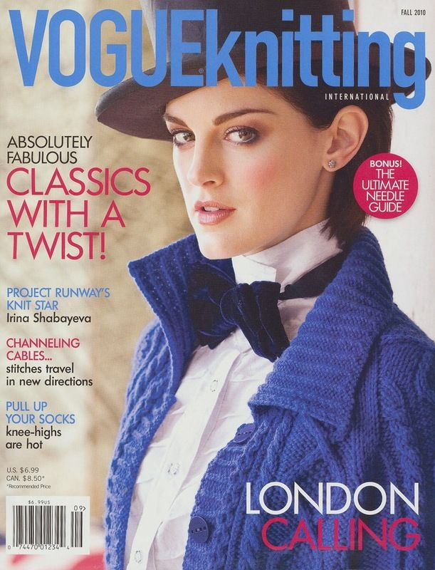 Vogue Knitting. Fall 2010
