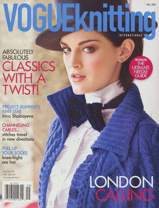 Vogue Knitting. Fall 2010