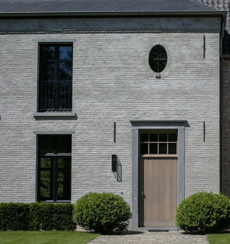 25 beste idee n over gevels op pinterest moderne gevels modern huis exterieur en moderne for Moderne stijl gevel