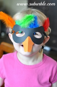 Make Your Own Bird Costume - The Kiwi Crate - Kids' Crafts - Suburble