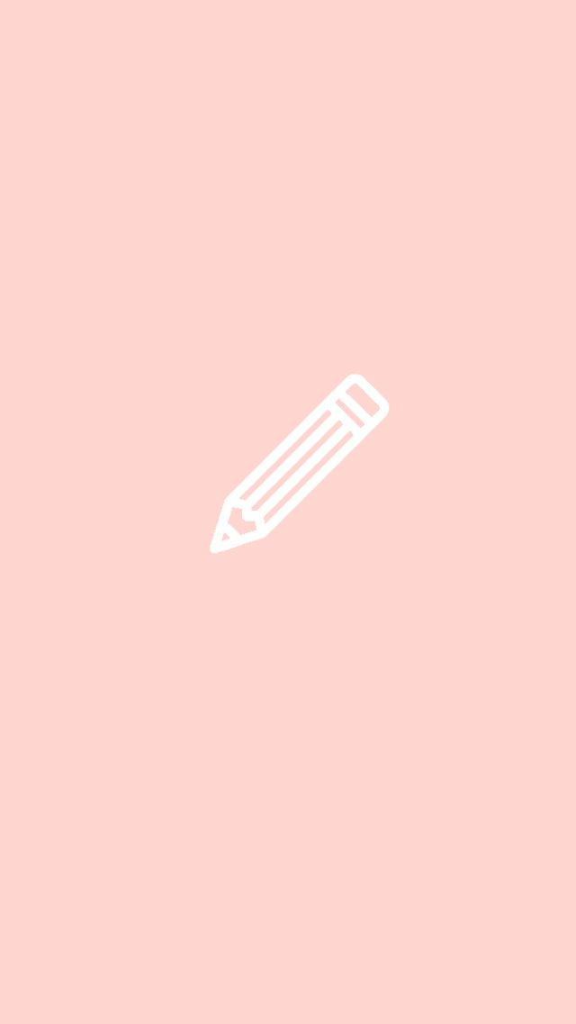 pink pencil back to school Instagram story highlights