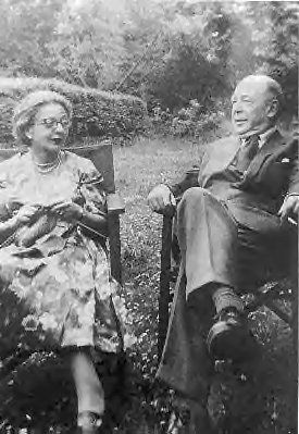 C.S. Lewis & His Wife Joy Gresham. #cslewis