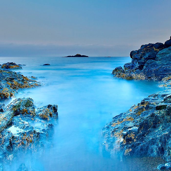 Nootka Island by Moonlight - British Columbia, Canada