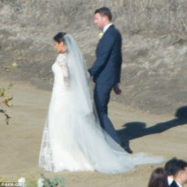 Happily ever after: Jamie Chung and Bryan Greenberg tied the knot on Halloween in Santa Barbara